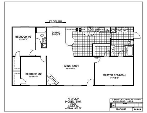 2 bedroom double wide mobile home double wide mobile home floor plans bedroom mobile home