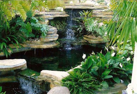 membuat kolam air  taman minimalis desain interior rumah