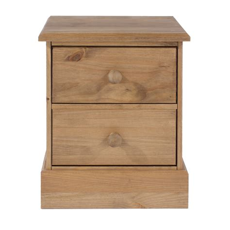 pello 2 drawer bedside cabinet cotswold two drawer bedside cabinet