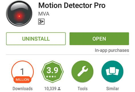 motion app android how to convert your android to a motion detector technical tips