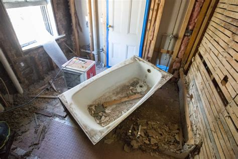 preparing a bathroom for painting preparing for bathroom remodeling a concord carpenter