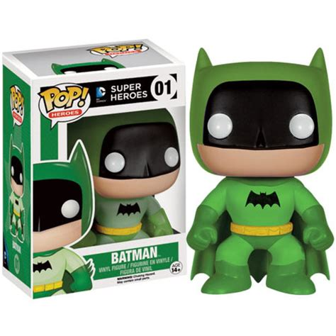 Funko Pop Batman Blue Rainbow 75th Anniversary Batman dc comics batman 75th anniversary green rainbow batman ee exclusive pop vinyl figure
