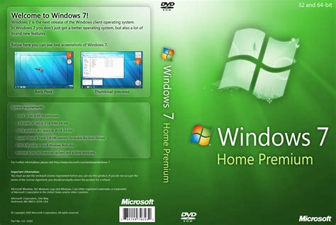 windows 7 home premium dvd by yaxxe on deviantart