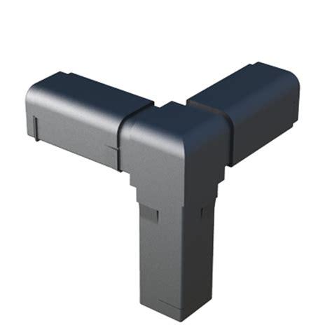 tubos cuadrados de pvc conector para tubo cuadrado isc plastic parts