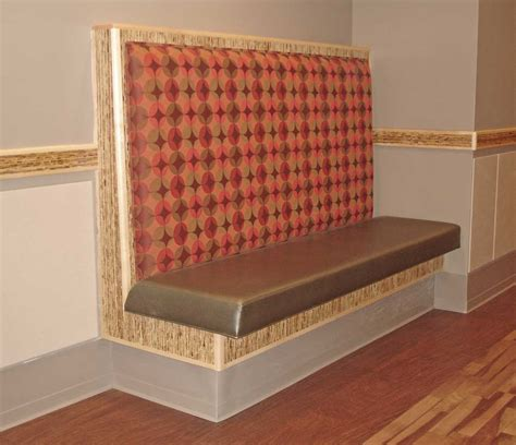 Banquette Upholstery by Upholstered Banquette Booth Seating