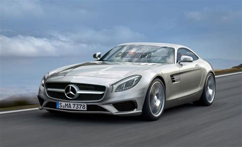 2016 Mercedes Benz GT AMG Gets Rendered   MBWorld