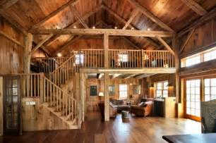 pole barn home interiors farmhouse cultivates modern amenities vintage