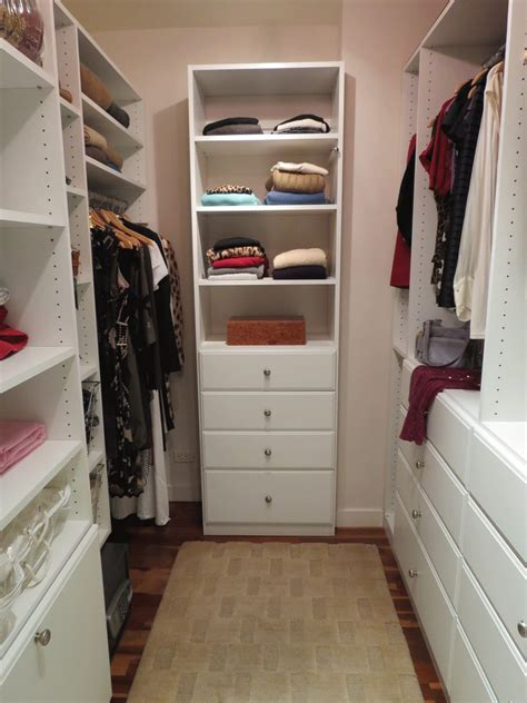 Walk In Closet Small by Small Walk Closet With Wardrobe Design