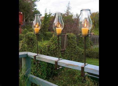 Wine Bottle Home Decor Glass Hurricane Railing Lanterns The Green Head