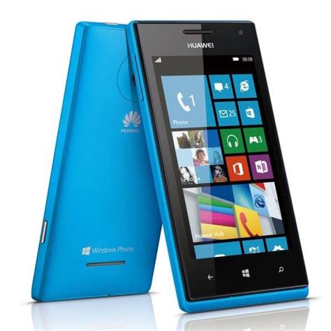 Huawei Windows Phone huawei ascend w1 windows phone 8 smartphone announced