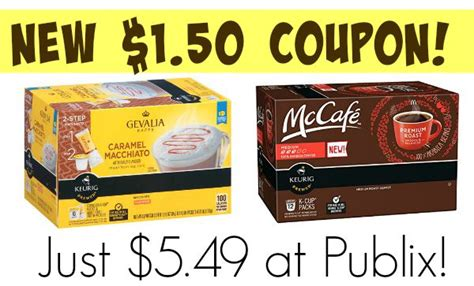 High Value Coffee Coupon   Save On Gevalia & McCafe K Cups At Publix!