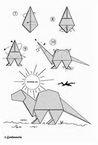 Origami Resource Center - origami dinosaurs a list of origami dinosaur