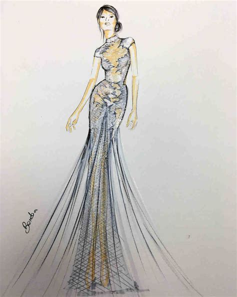 Sketches Of 8 by Exclusive Get A Look At The 2018 Bridal