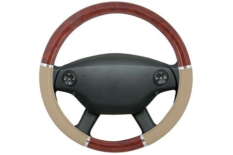 steering wheel upholstery proz burlwood steering wheel cover free shipping