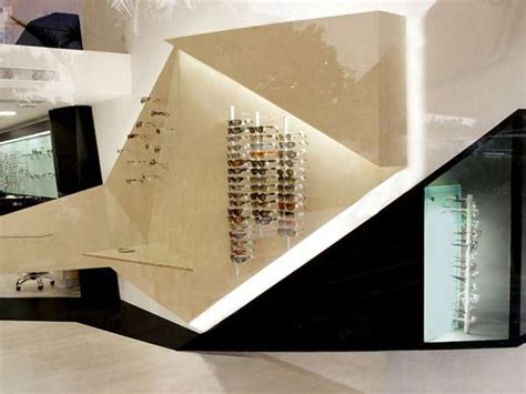 Origami Stores - geometric eyewear boutiques athens optical store