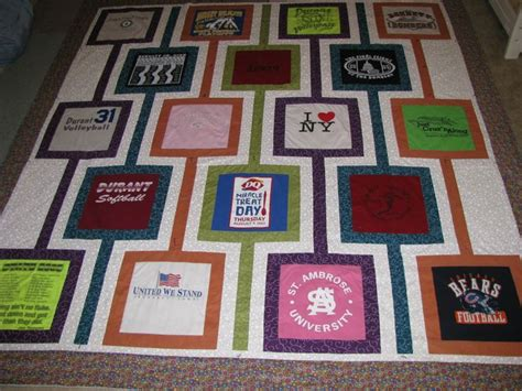 T Shirt Quilt Pattern by Pin By Robin Baum On Sewing