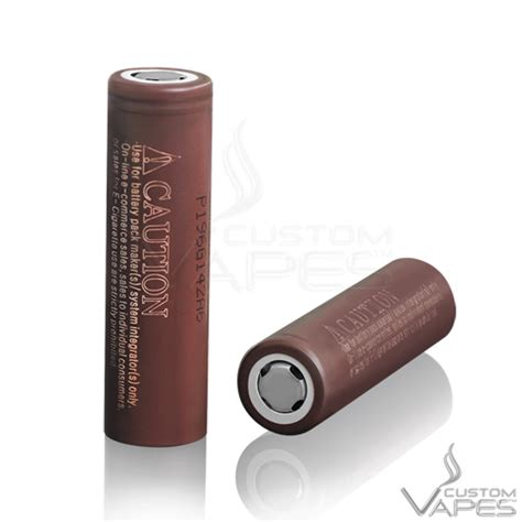 Lg Hg 2 Authentic Lg Hg2 18650 lg hg2 18650 20a 3000mah high drain battery flat top custom vapes uk