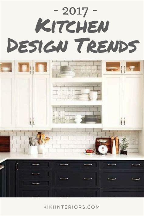 kitchen decorating trends kitchen design trends for 2017 interiorsbykiki com