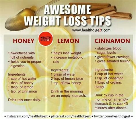 Cinnamon Honey Detox Weight Loss by 25 Best Ideas About Honey Lemon Tea On Honey