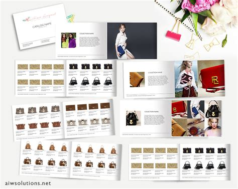 Catalog Template Photoshop add images in photoshop catalog template knowledge 2