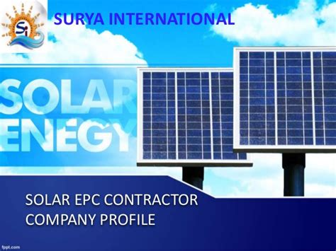 solar company company profile