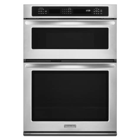 microwave combo kitchenaid self cleaning microwave convection microwave wall oven combo stainless steel
