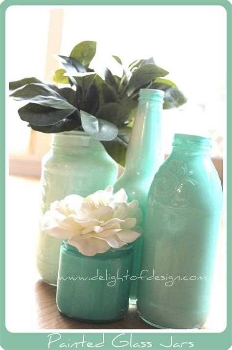Painting Glass Jars by Tips For Painting Your Own Painted Glass Jars