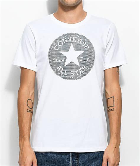 Converse Lenti Cular Chuck Patcht Mens Original Converse Lenticular Chuckpatch White T Shirt Zumiez