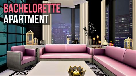 lilmissdolly tips on decorating in sims 4 bachelorette apartment sims 4 interior design youtube