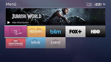 desbloqueo de canales izzi izzi paquetes de tv 191 qu 233 canales de izzi incluye el pack tv
