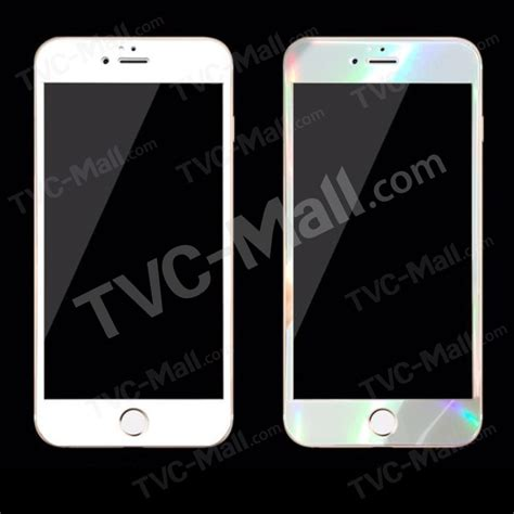 Tempered Glass Iphone 4 Magic Glass Original fema for iphone 6 6s magic white laser tempered glass screen protector 0 3mm 2 5d tvc mall