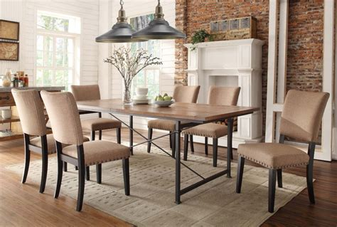 light wood dining set affordable baxton studio broxburn