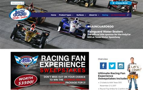 Sweepstakes Texas - rainguard texas 500 sweepstakes enter online sweeps howldb