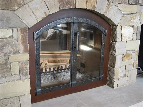 fireplace doors accessories ornamental ironwork by