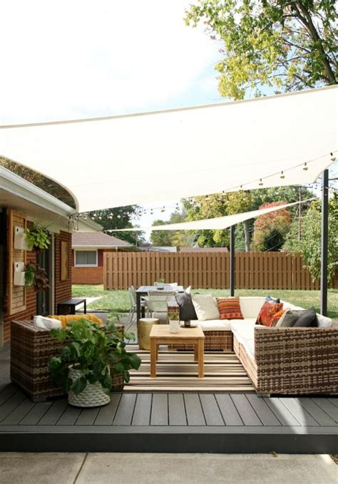 diy shade sails for outdoor patio livning areas a how to