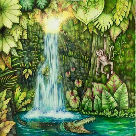 curated magical jungle johanna basford ideas