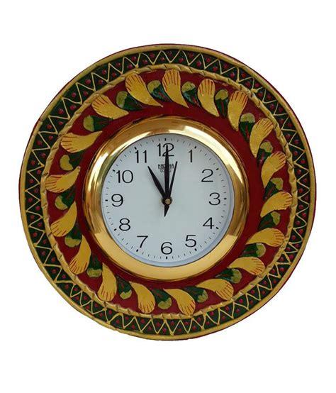 Handcrafted Wall Clocks - divinecrafts multicolor handcrafted wall clock buy