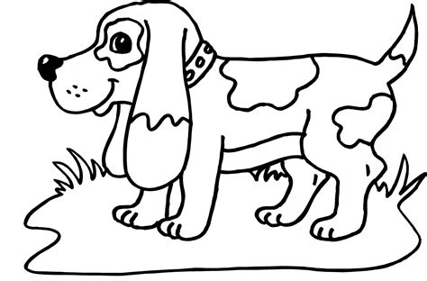 happy birthday dog coloring pages printable happy birthday coloring pages with dogs