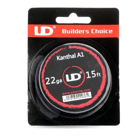 Authentic Ud Kanthal 20 Awg 15ft A1 Youde Wire Kawat Vape Vapor buy authentic youde ud kanthal a1 22 awg resistance wire