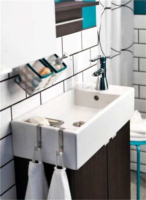 ikea small bathroom sink work small miracles in your small bathroom with this