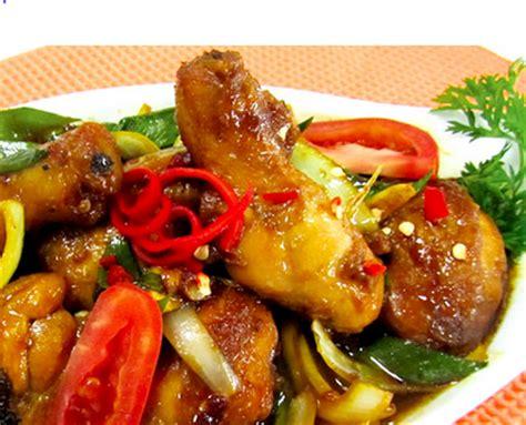 Rasa Rempah Nusantara Bumbu Lada Putih Bubuk White Pepper Powder resep cara membuat ayam kecap yang lezat kumpulan resep