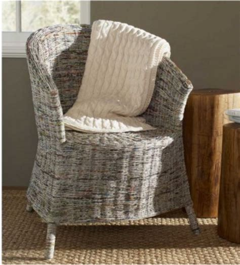 Newspaper Chair by 13 Awesome Craft Projects You Can Do With Newspapers