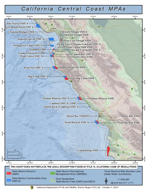 mpas maps central california marine protected areas