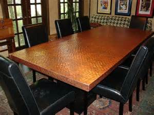 copper top dining room tables copper top dining room table http www diynetwork com