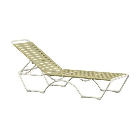 vinyl strap chaise lounge chairs kahana vinyl strap chaise lounge with aluminum frame