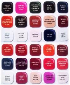 opi nail color chart opi colour chart 2012 www proteckmachinery