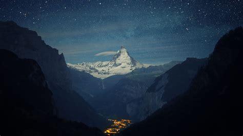 wallpaper zermatt matterhorn switzerland europe