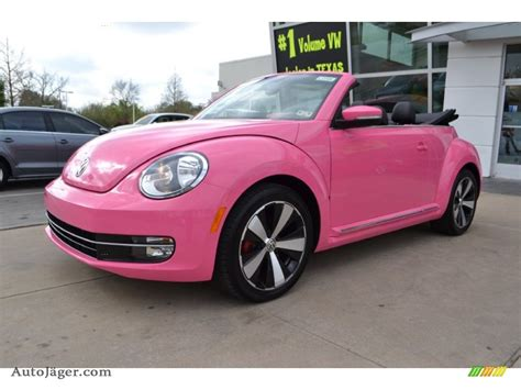 volkswagen beetle turbo convertible  custom pink photo   auto jaeger german