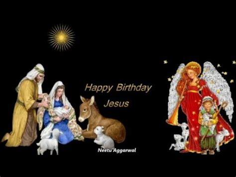 happy birthday jesus merry christmas animated wishes youtube