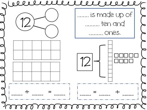 Composing And Decomposing Numbers Worksheet Grade by Abc S 123 S For Me